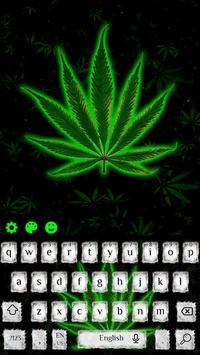 Weed Rasta Smoke Keyboard screenshot 3
