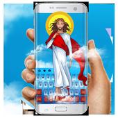 God Jesus Christ keyboard icon