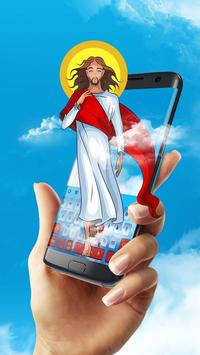 God Jesus Christ keyboard apk screenshot