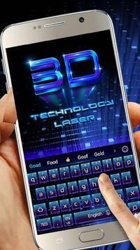3D technology laser poster