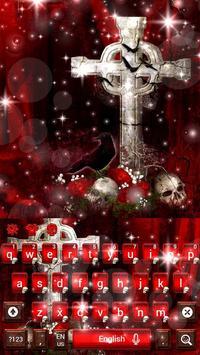 Skull & Crow Keyboard Theme poster