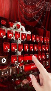 Skull & Crow Keyboard Theme apk screenshot