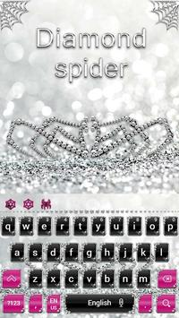 Silver Spider Keyboard Theme poster