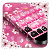 Pink Blossom Keyboard icon