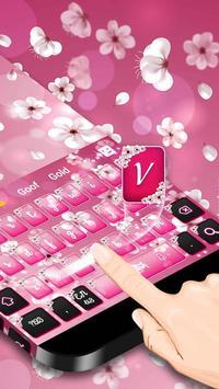Pink Blossom Keyboard screenshot 1