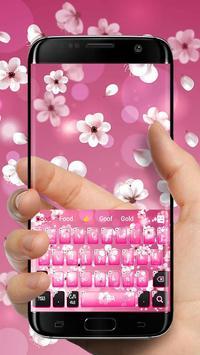 Pink Blossom Keyboard screenshot 2