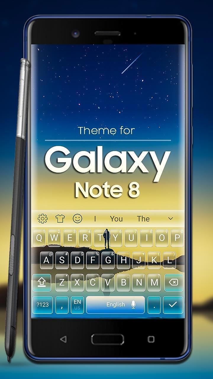 Keyboard for Galaxy Note 8 for Android - APK Download