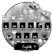 switch Color Black Glitter Bow icon