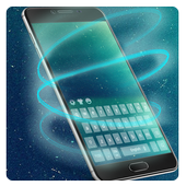 Galaxy cosmic keyboard theme icon