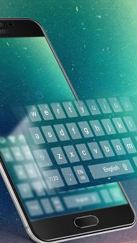 Galaxy cosmic keyboard theme screenshot 1