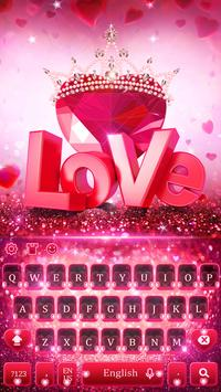 Valentine's Day Love Keyboard screenshot 3