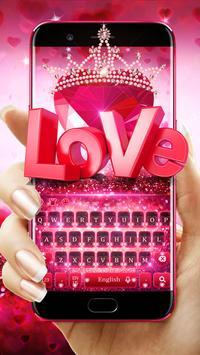 Valentine's Day Love Keyboard poster