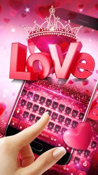 Valentine's Day Love Keyboard screenshot 1