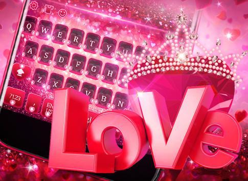 Valentine's Day Love Keyboard screenshot 4