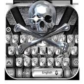 Metal Skull Keyboard Theme icon