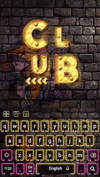 Neon Club Keyboard screenshot 1