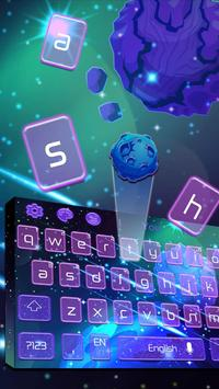 paramount asteroid nature Keyboard Theme 2D screenshot 1