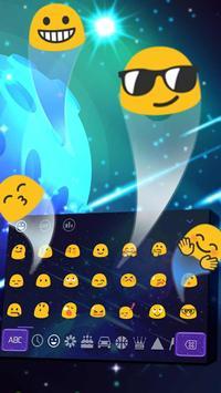 paramount asteroid nature Keyboard Theme 2D apk screenshot