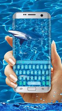 Ocean Shark Keyboard poster