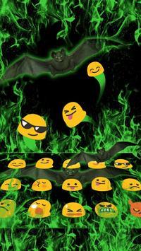 Fire Bat Keyboard Theme apk screenshot