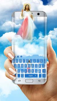 God Jesus Gospel Keyboard Skin poster