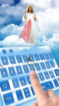 God Jesus Gospel Keyboard Skin apk screenshot