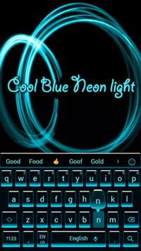 Cool simple black Keyboard Theme poster