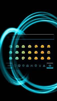 Cool simple black Keyboard Theme apk screenshot