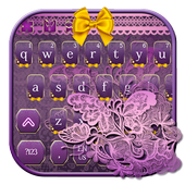 Pink Lace Keyboard icon