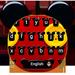 Cute Micky Bowknot Keyboard Theme