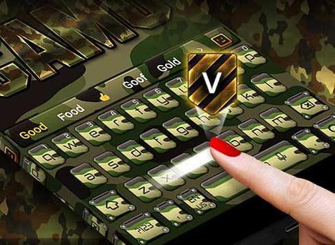 Camo Keyboard screenshot 3