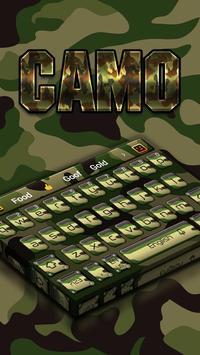 Camo Keyboard poster