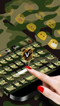 Camo Keyboard screenshot 1