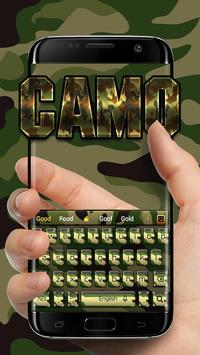 Camo Keyboard screenshot 2
