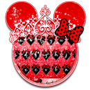 Клавиатура Red Cute Bow APK