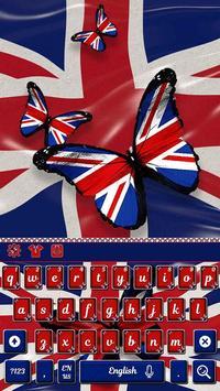 British Flag Keyboard Theme poster