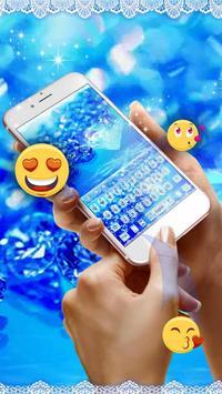 Blue ice Diamond Lace Keyboard screenshot 1