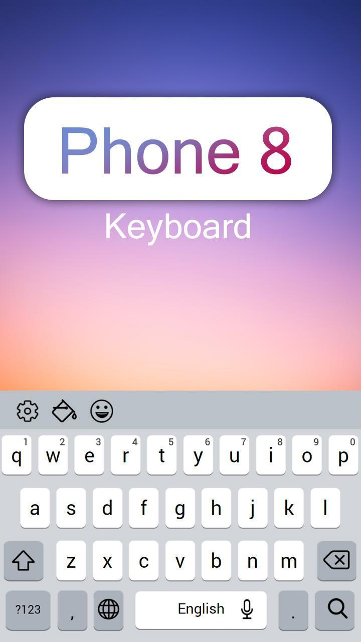 Smart New Keyboard For iPhone 8 for Android - APK Download