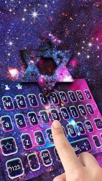 Galaxy star keyboard for Samsung screenshot 2