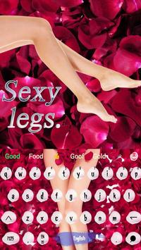 Rose petals and sexy legs apk screenshot