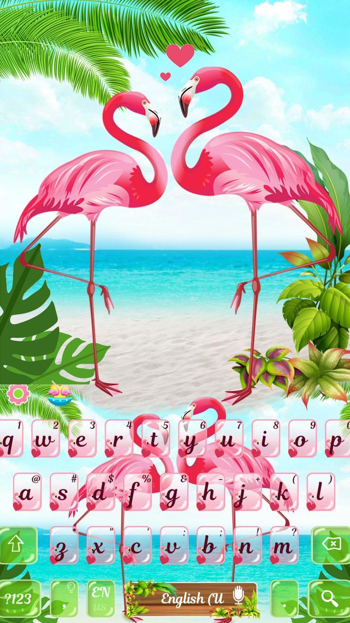 Pink Flamingo Keyboard Theme For Android Apk Download