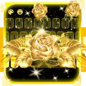 Gold Rose Keypad icon