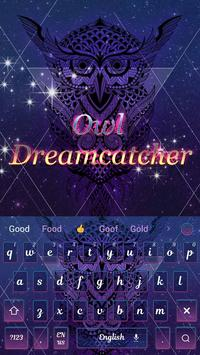 Owl dreamcatcher keyboard screenshot 3