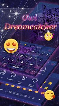 Owl dreamcatcher keyboard screenshot 1