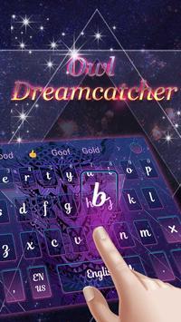 Owl dreamcatcher keyboard screenshot 2