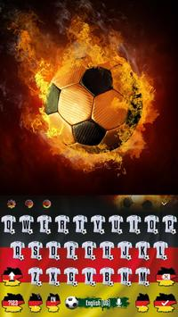 Germany Football Keyboard Theme apk screenshot