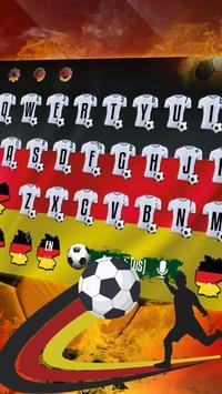 Germany Football Keyboard Theme poster
