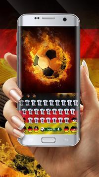 Germany Football Keyboard Theme screenshot 2