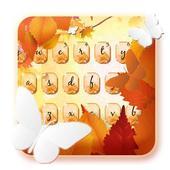 Autumn keyboard theme icon