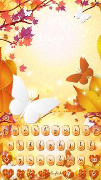 Autumn keyboard theme screenshot 3